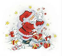 """Схема для вышивки бисером """"Новогодние подарки"""""""