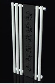 Полотенцесушитель-радіатор Termotek 600х1600 декоративний (біло-чорний)