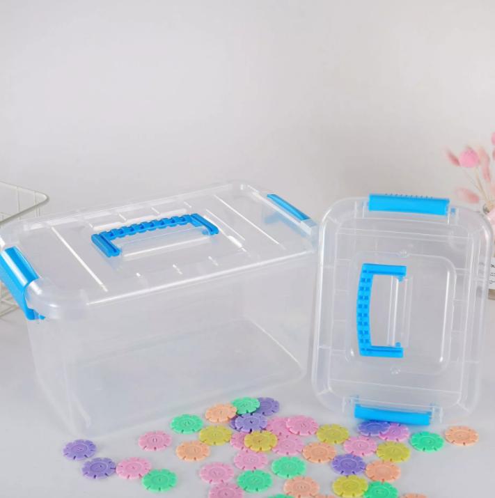 Контейнер пластиковий для зберігання дидактичного матеріалу  25*19*13 см