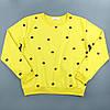Кофта женская желтая, молодежный свитшот Lianara, фото 4