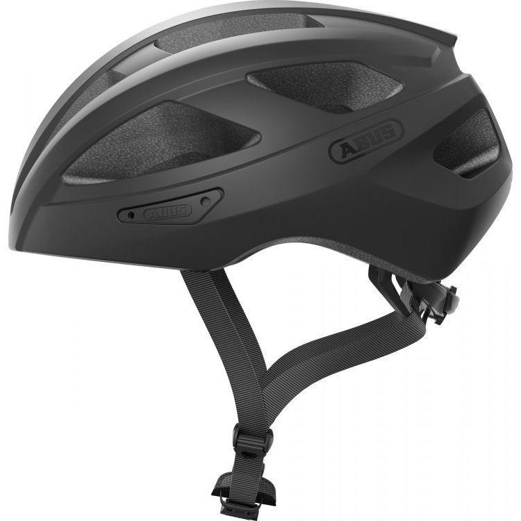 Шолом велосипедний ABUS MACATOR M 52-58 Velvet Black (872129)