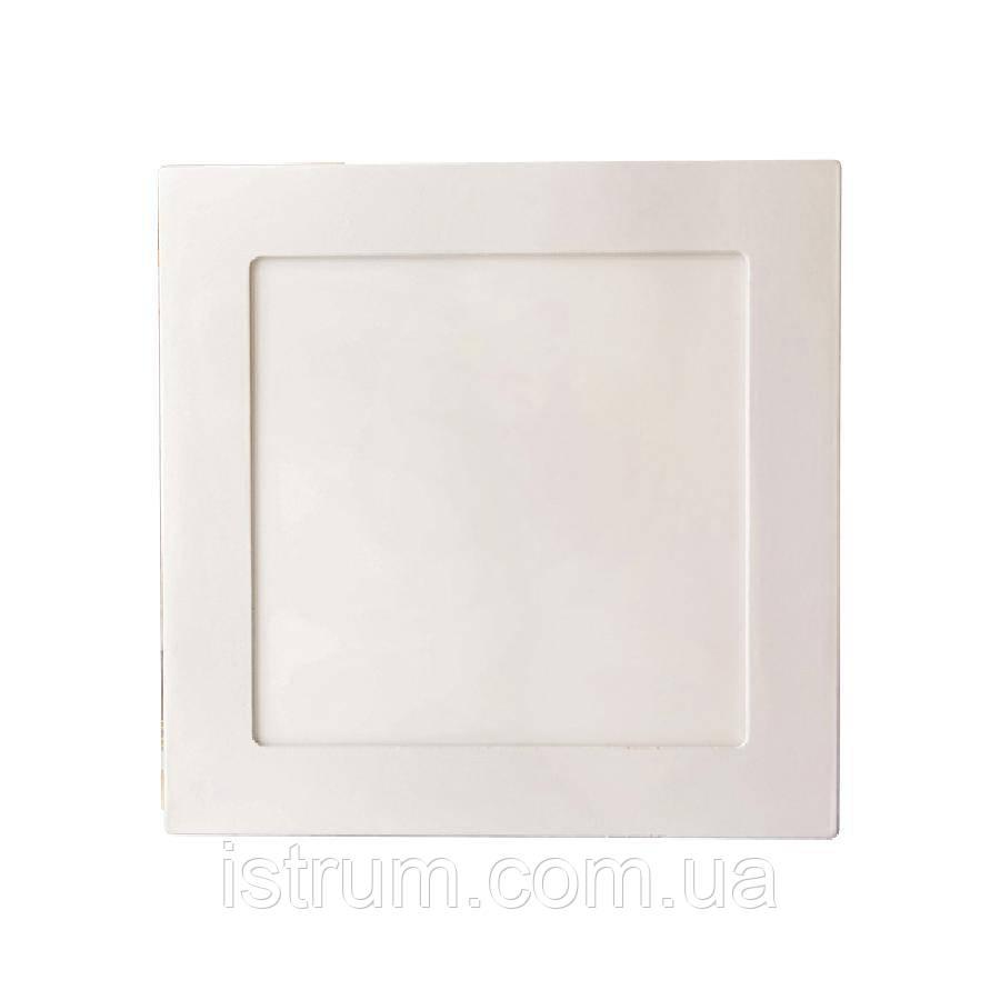 Светильник точечный врезной ЕВРОСВЕТ 9Вт квадрат LED-S-150-9 4200К