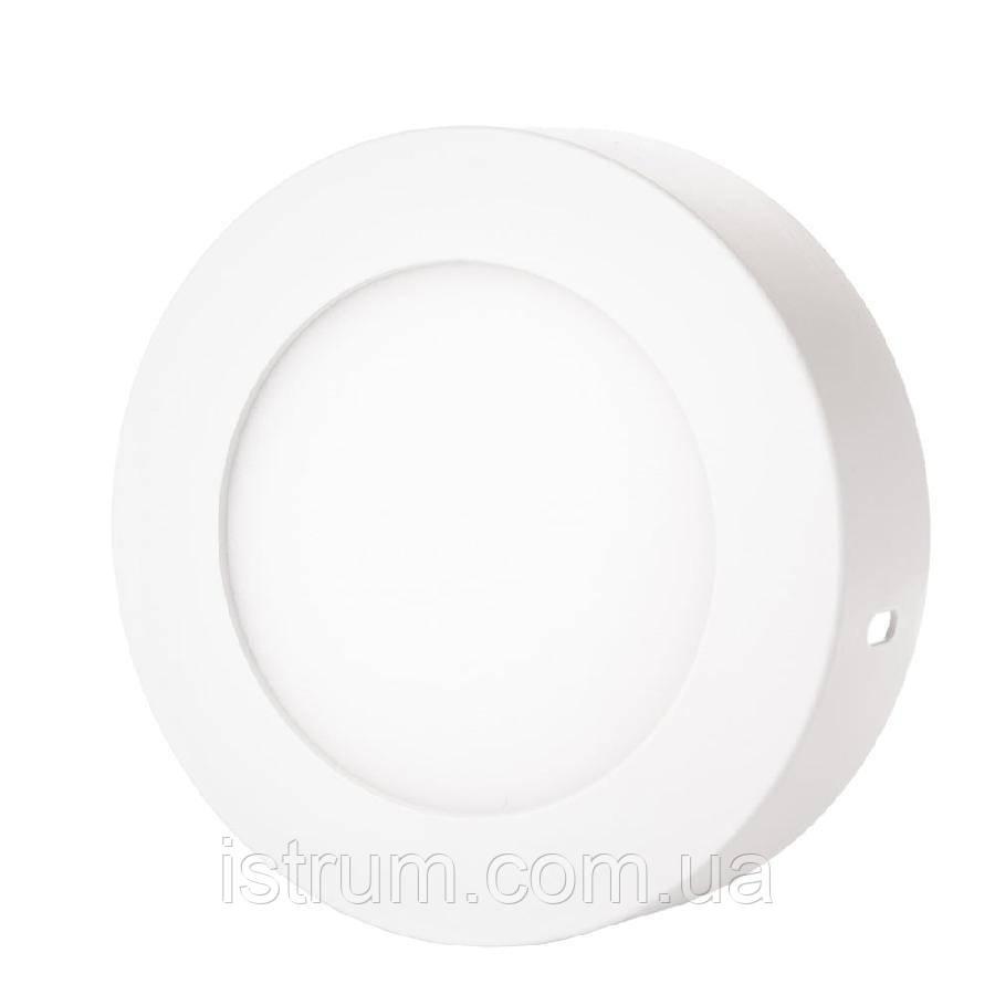 Світильник точковий накладної ЕВРОСВЕТ 12Вт коло LED-SR-170-12 4200К