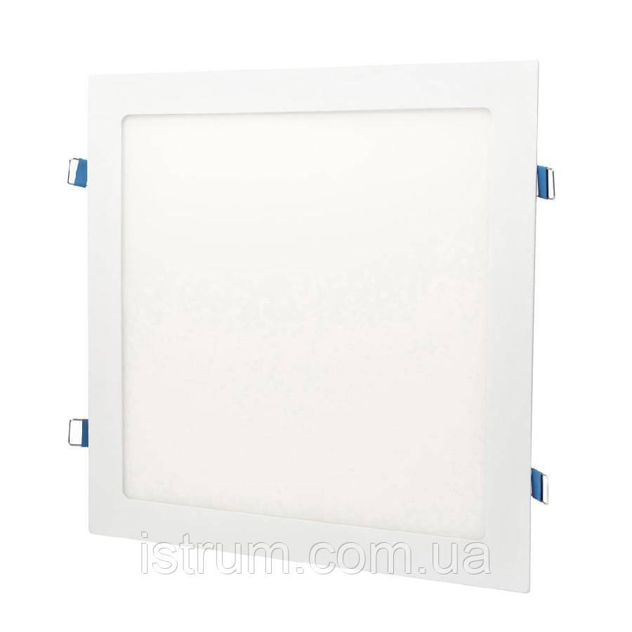 Світильник точковий врізний ЕВРОСВЕТ 24Вт квадрат LED-S-300-24 6400К