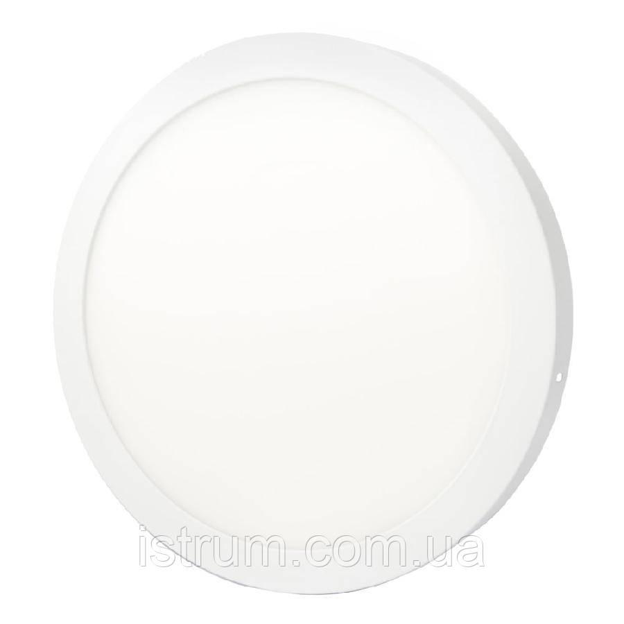 Світильник точковий накладної ЕВРОСВЕТ 24Вт коло LED-SR-300-24 4200К