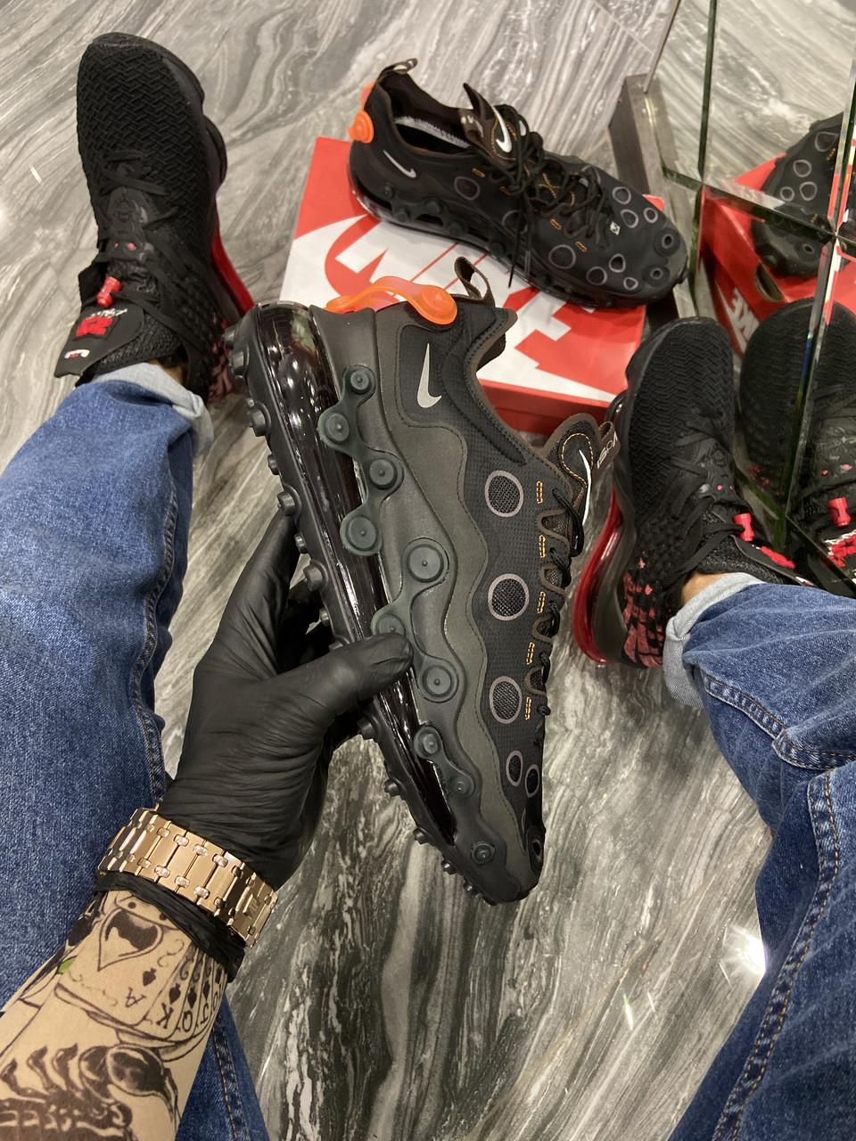 Мужские кроссовки Nike Air Max 720 ISPA Black Orange (Чёрный) . [Размеры в наличии: 42,43,44,45]