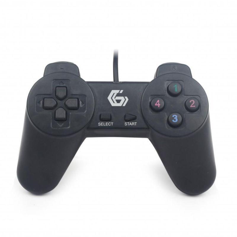 Джойстик игровой Gembird JPD-UB-01 USB,черный