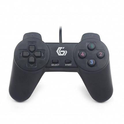 Джойстик игровой Gembird JPD-UB-01 USB,черный, фото 2
