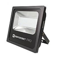 Прожектор світлодіодний ЕВРОСВЕТ 150Вт 6400К EV-150-504 PRO 13500Лм + PULS, фото 1