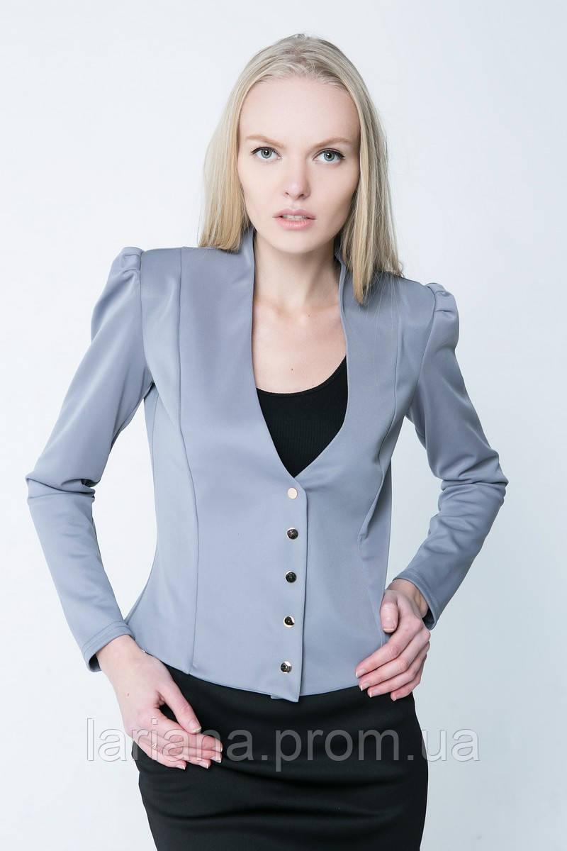 SEWEL Жакет YS627 (L, серый, 60% полиамид/ 20% полиэстер/ 20% эластан )