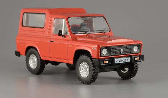 Автолегенды №161 ARO 243 (Румыния) красный | Коллекционная модель 1:43 | DeAgostini