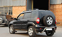 Задняя дуга для защиты бампера Chevrolet Niva