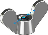 DIN 315 GF, гайка барашковая из нержавеющей стали (округлые лепестки)