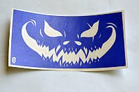 Трафарет для Био Тату Хеллоуин 8  (одноразовый)