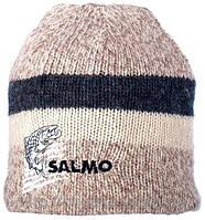 Вязаная шерстяная шапка Salmo Wool с флисовой подкладкой