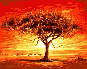 "Картина за номерами Art Craft ""Золоте сонце Африки"" 40х50см, 10507-AC"