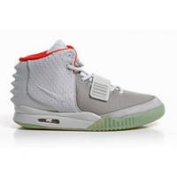 Nike Air Yeezy 2 Wolf Grey/Pure Platinum - 1380