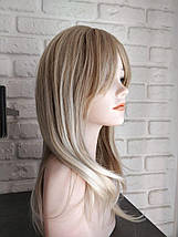 Парик омбре блондинка  средняя длина, фото 3