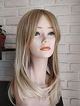 Парик омбре блондинка  средняя длина, фото 2