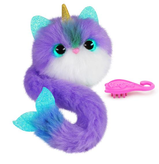 Игрушка пушистик котенок Помсис Pomsies S4
