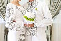 Вишиванка бісером - весільна пара  продажа 801cd1fc302ce