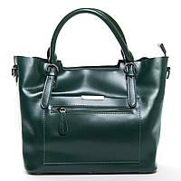 Женская кожаная сумка  8222 green.Купить сумки оптом и в розницу по выгодной цене в Украине, фото 1