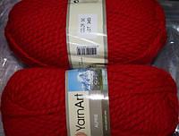 Yarnart Alpine  - 340 красный