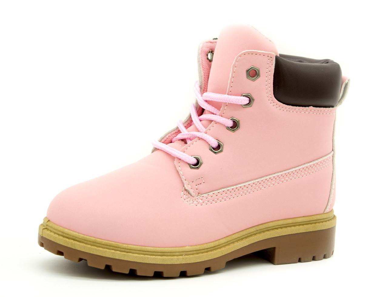 Демисезонные ботинки Для девочек Розовый
