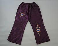 Теплые штаны для девочки ( 3-8 ) лет