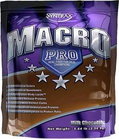Гейнер для набора массы Syntrax Macro Pro (2.53 кг) синтракс макро про vanilla bean