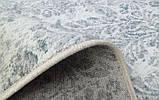 Потертые ковры в голубых тонах бельгийские, фото 3