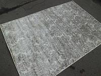 Состаренный песочно бежевый ковер на кухню из натурального приятного на ощупь материала
