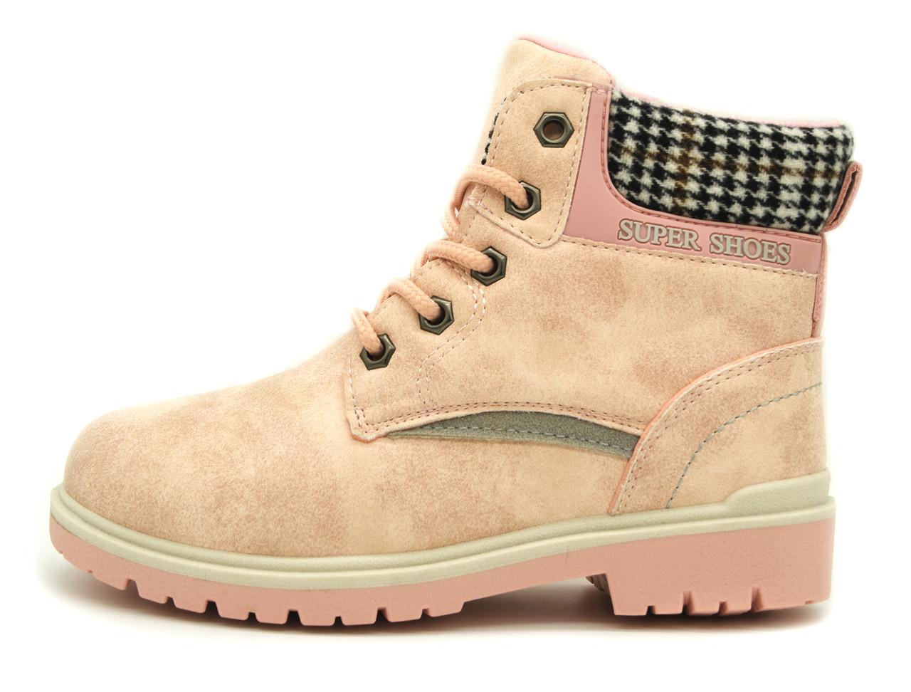 Ботинки Для девочек Розовый Размер: 31,32,36