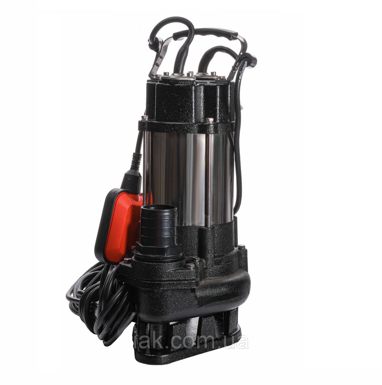 Насос фекальный с режущим механизмом VOLKS V 750 DF 0,75 кВт