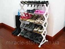 Стійка для взуття Shoe Rack органайзер полку, фото 3