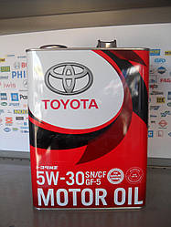 Моторное масло Toyota 5W30
