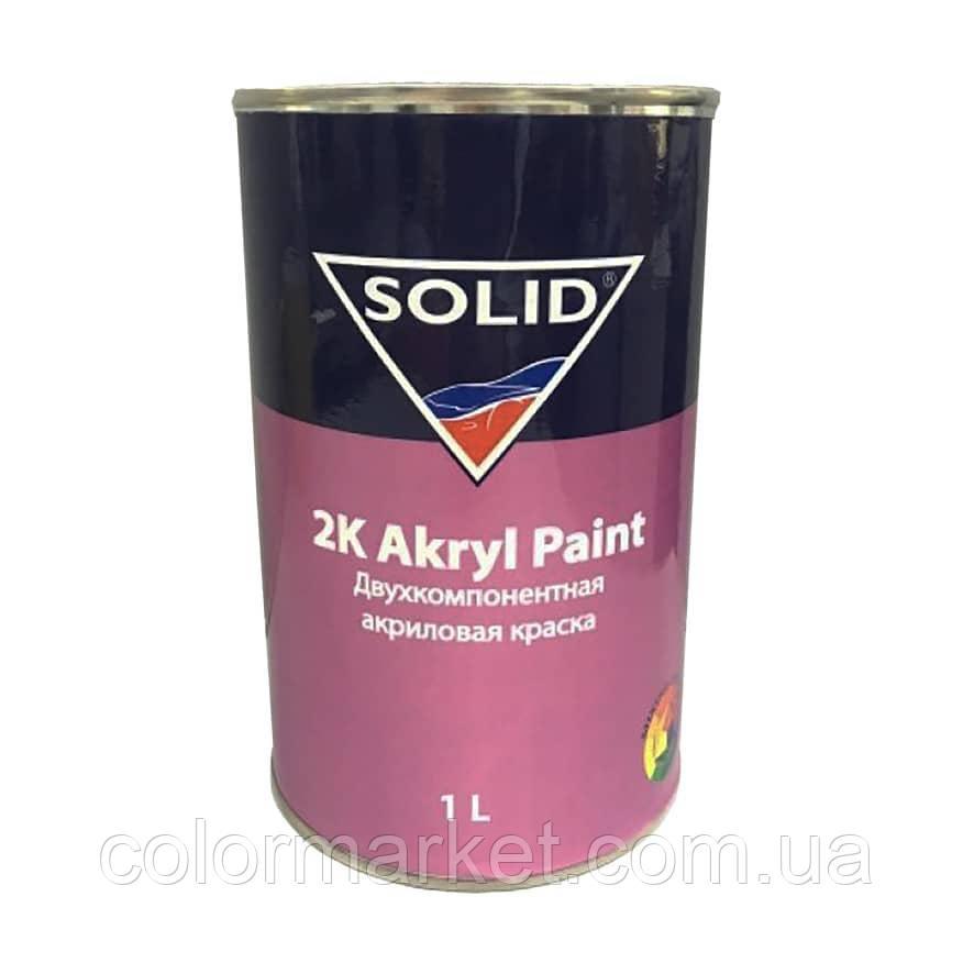 Краска акриловая 2K Akryl Paint 303 хаки (1 л), SOLID