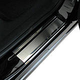 Накладки на пороги Ford Focus III 2011- standart, фото 4