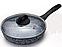 Сковорода з кришкою Edenberg EB-3439 - 26 см з мармуровим покриттям, фото 2