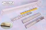 Накладки на пороги Peugeot Partner II 2008 - standart, фото 2