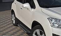 Боковые площадки Chevrolet Trax (BMW-тип)