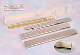 Накладки на пороги Toyota Verso 2009- standart, фото 2