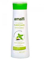 Очищающий шампунь для волос Зелёный чай Amalfi 400мл/ 85-1
