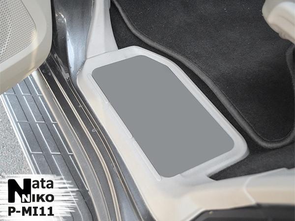 Накладки на пороги Mitsubishi Pajero Wagon 2005- premium