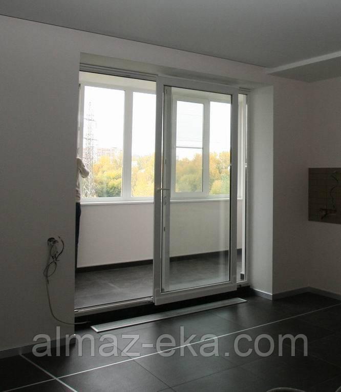 Алмазная резка подоконных блоков,выход на балкон, фото 1