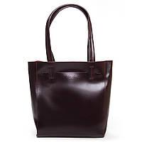 Женская кожаная сумка  J003 wine-red.Купить сумки оптом и в розницу по выгодной цене в Украине, фото 1