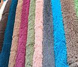 """Пушистый плед травка с длинным ворсом """"Серый"""" (меховой), размер 160х210 см, фото 3"""