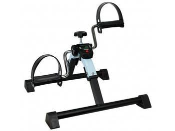 Тренажер педальный для ног и рук складываемый с счетчиком (реабилитационный)