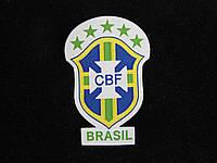 Нашивка наклейка Бразилия футбол
