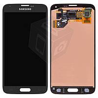 Дисплейный модуль (дисплей + сенсор) для Samsung Galaxy S5 G900F / G900H, черный, оригинал